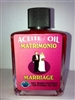 MAGICAL AND DRESSING OIL (ACEITE) 1/2OZ MARRIAGE ( MATRIMONIO )