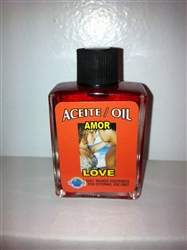 MAGICAL AND DRESSING OIL (ACEITE) 1/2OZ LOVE ( AMOR )