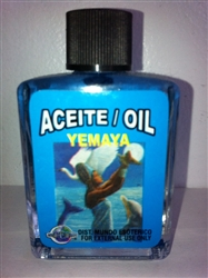 MAGICAL AND DRESSING OIL (ACEITE) 1/2 OZ FOR ORISHA YEMAYA