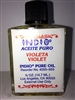 INDIO BRAND MAGICAL AND DRESSING OIL (ACEITE) 1/2 OZ FOR VIOLET (VIOLETA)