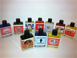 MAGICAL AND DRESSING OIL (ACEITE) 1/2 FL OZ SET OF 10 - YOUR CHOICE - FREE U.S. SHIPPING!