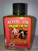 MAGICAL AND DRESSING OIL (ACEITE) 1/2 OZ FOR FOLDS TO MY FEET (DOBLEGADO A MIS PIES)
