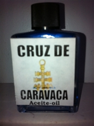 MAGICAL AND DRESSING OIL (ACEITE) 1/2 OZ FOR CROSS OF CARAVACA (CRUZ DE CARAVACA)
