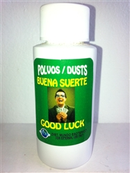 SPIRITUAL POWDER ( POLVO ESPIRITUAL ) 1 OZ FOR GOOD LUCK (BUENA SUERTE)