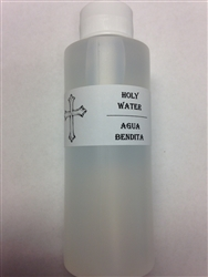 Holy Water 4oz