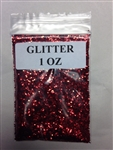 NEW AGE BOTANICA GLITTER 1 OZ RED (ROJA)