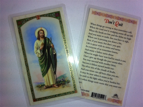 a96970fce4d holy prayer cards for the prayer to saint jude