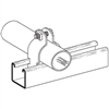 Cooper B-Line #B2007 ZN Pipe and Conduit Clamp 3/8 inch