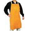 LEATHER BIB APRON, 36in