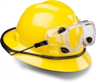 Goggle Retainer Ring or Strap for Hard Hat
