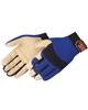 Pigskin Palm Mechanics Gloves- Small