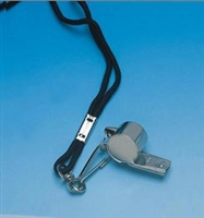Whistle, Metal Police Signal Whistle with lanyard
