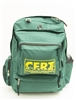 CERT Backpack, deluxe model, with multiple compartments & CERT logo