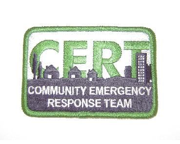 FEMA CERT Logo Embroidered Patch
