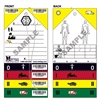 Triage Tags, Standard Medical Emergency, 50 per pack