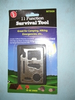 Survival Tool 11 Function with carrying case