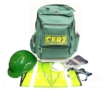 CERTKIT3 Deluxe Backpack CERT Kit