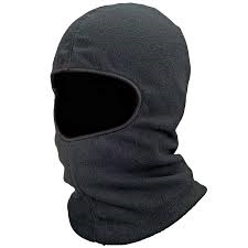 Balaclava, Polyester, Fleece Lining, Black