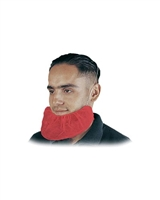 Beard Covers, Disposable, Red, 1000/BX