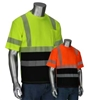 HI VIZ Short Sleeve Shirt, Two-Toned, ANSI Type R Class 3