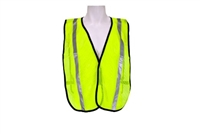All Purpose Mesh Vest, 1inch vertical reflective stripe, jumbo size