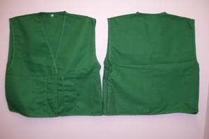ICS Vest 2 Front Outside 2 Inside Pockets Velcro Closure
