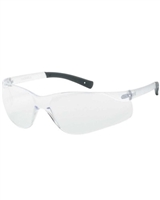 INOX® F-II™ - Clear Safety Glasses with Clear Anti- Fog and Anti-Scratch Coated Lens, Clear Frame