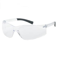 INOX® F-II™ - Clear Safety Glasses with Clear Anti-Scratch Coated Lens and Clear Frame