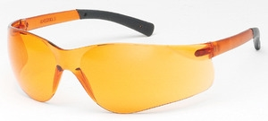 Safety Eyewear, Fuse II, Orange frame, Orange lens