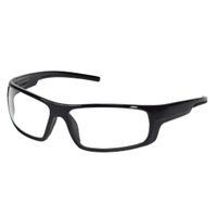 INOX® ENFORCER™ Safety Glasses, Clear Lens, Black Frame