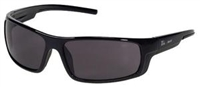 INOX® ENFORCER™ Safety Glasses, Anti-Scratch, Grey Lens, Black Frame