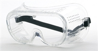 Safety Goggle, Clear Lens, Direct Vent