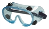 Safety Splash Goggle, Clear Lens, Indirect Vent, Anti-Fog