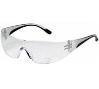 Safety Glass with Bifocals 1.5 - 3.0 Diopter, Clear Lens