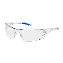 RECON Rimless Safety Glasses with Clear Temple, Clear Lens and Anti-Scratch / FogLess 3Sixty Coating
