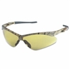 NEMESIS Anti-Fog/Anti-Scratch Safety Glasses, Amber Lens, Camo Frame