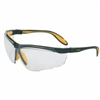 Honeywell UvexTM Genesis X2TM Safety Glasses, Anti-Fog/Anti-Scratch,  Clear Polycarb Hard Coat Lenses, Black/Yellow Polycarb Frame