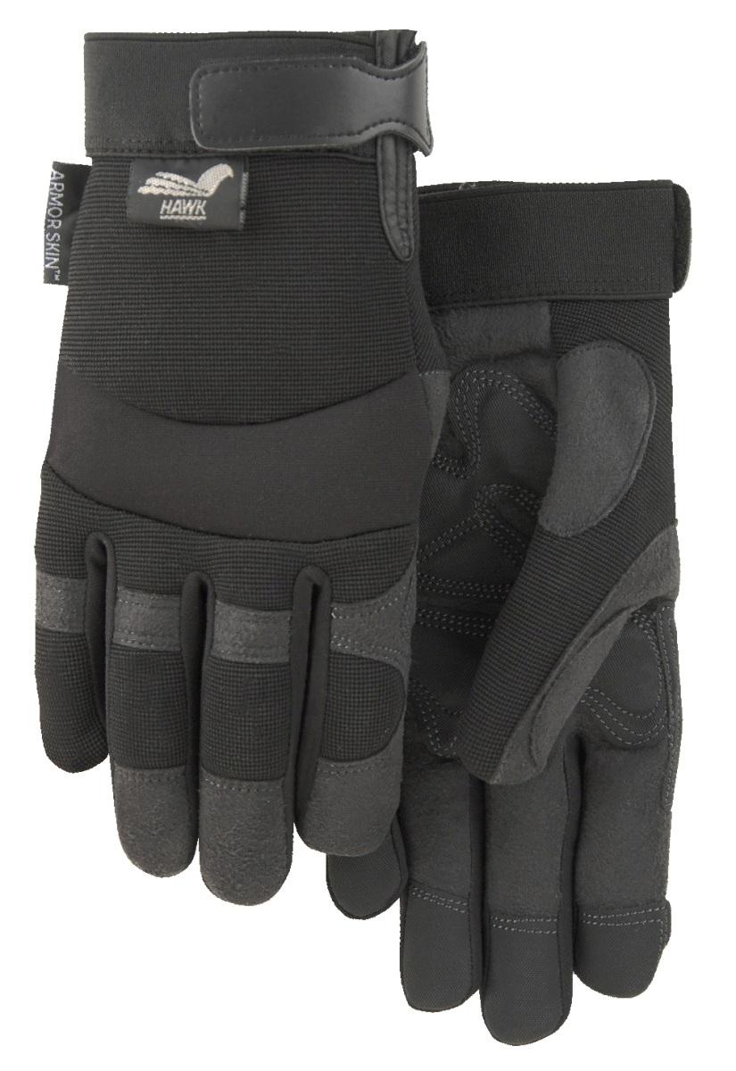 Armor Skin Hawk Mechanic Style Glove Double Palm