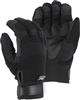 Winter Lined Armor Skin Mechanics Glove w/ PVC Double Palm and Knit Back