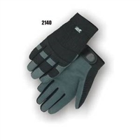 Mechanic Gloves, Gray Eagle Deerskin split palm
