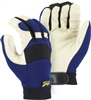 Winter Lined Mechanics Gloves w/ Pigskin Palm