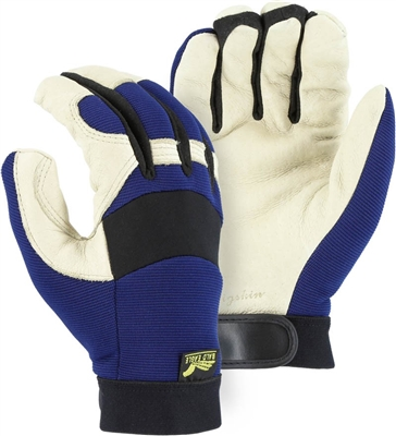 Gloves, Mechanics Bald Eagle Thinsulate Lined Premium Pigskin Palm