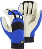 Mechanics Glove, Bald Eagle Pigskin Palm, Thinsulate Lined, WP