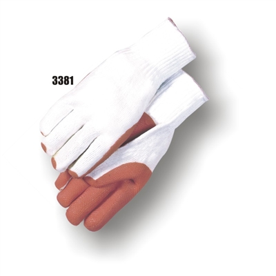 Rubber Coated Palm, Seamless Knit Glove