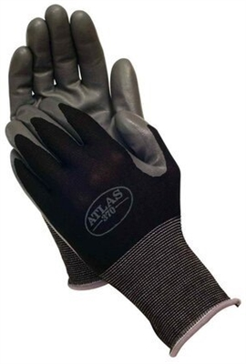 Showa Atlas 370 Nitrile Gloves - Black, Pack of 12