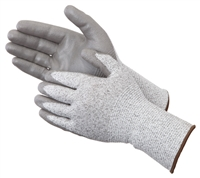 X-Grip Gloves Gray Polyurethane Palm Coated Level 3 Cut Resistant