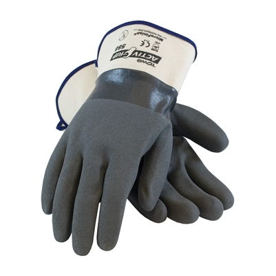 Fueler Nitrile Coated Glove, MicroFinish Grip & Safety Cuff