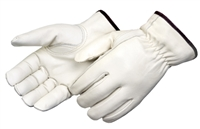 Drivers Gloves, Leather, Size: Small