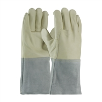 MIG TIG WELDERS GLOVE, TOP GRAIN COWHIDE, 4.5in