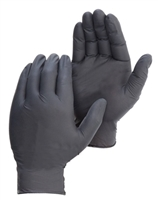 Nitrile 5mil Disposable Gloves, Black
